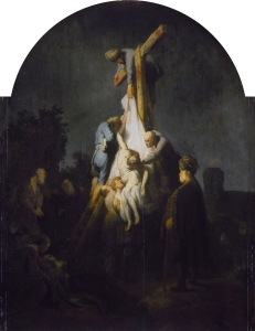 The descent from the cross, by Rembrandt