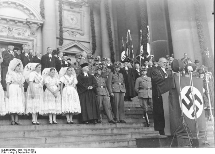 Berlin, Dom, Einführung des Reichsbischofs