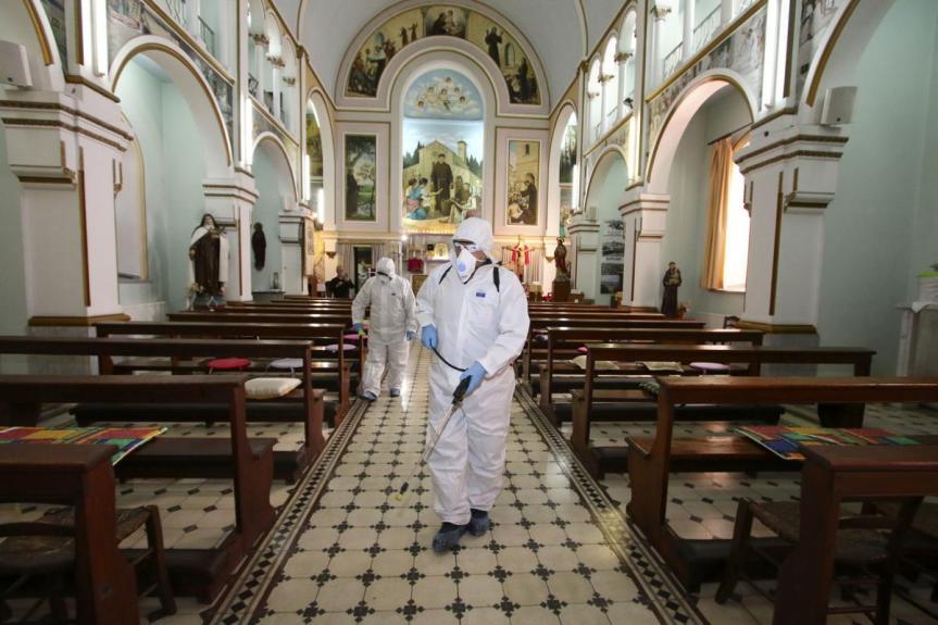 Imágenes de la Iglesia para un mundo enconfinamiento